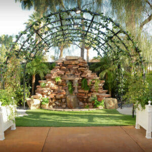 Waterfall Garden Ceremony & Reception