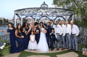 The Swan Garden at Lakeside Weddings