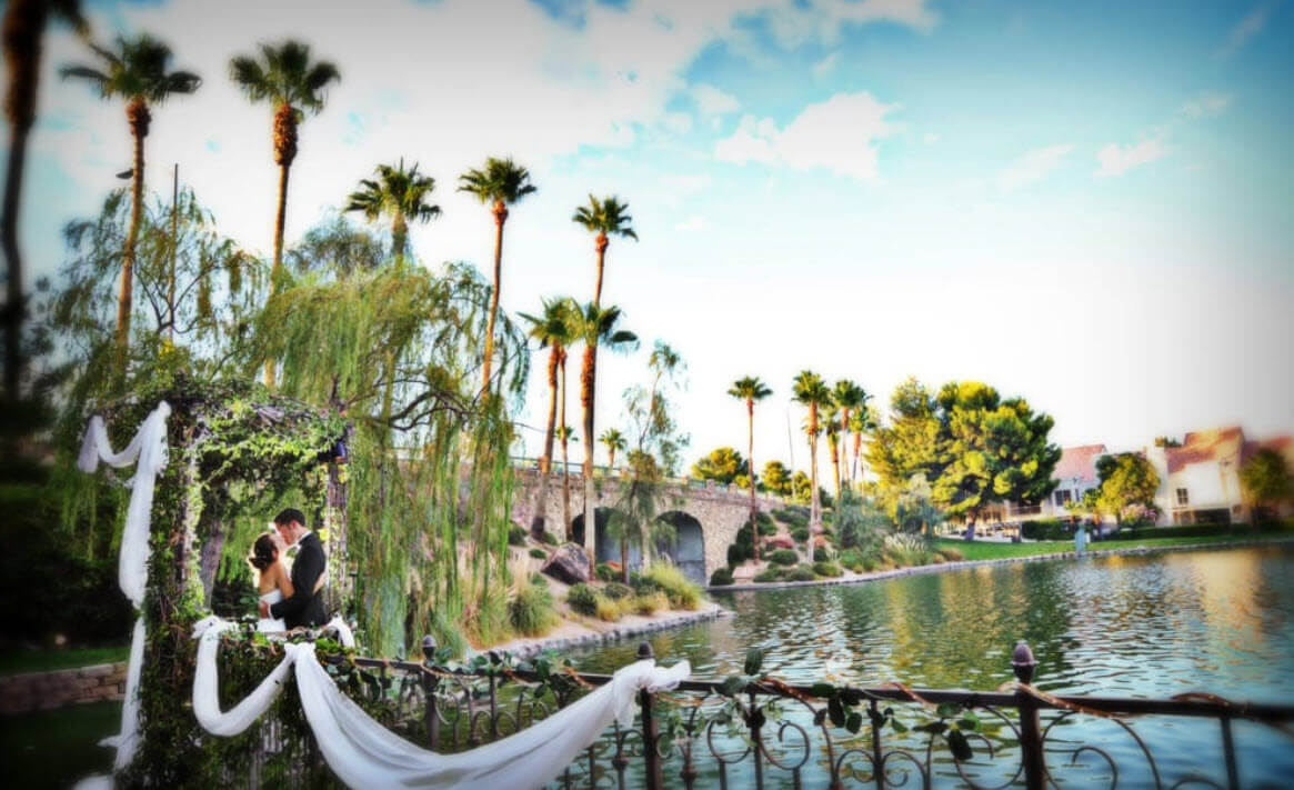 Las Vegas Nv Wedding Reception Venues Lakeside Weddings