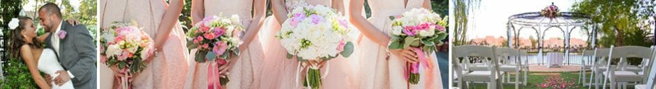 Las Vegas Outdoor Wedding Packages with Lake Views