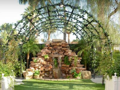 Las Vegas Waterfall Garden Wedding Package