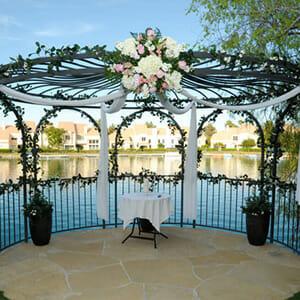 Swan Garden Ceremony Only Las Vegas Wedding Package
