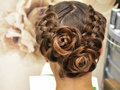 Ceremony Updos - Las Vegas Wedding Hairstyles
